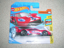 HOT WHEELS LEGENDS OF SPEED 2016 FORD GT RACE IN RED RARE SHORT CARD
