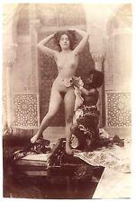 Photos - Nu Oriental à la servante - Tirage albuminé 1890 -