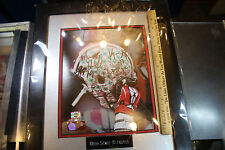 Multiple Autographed 8x10 Ohio State Buckeyes Football Framed Matted JSH