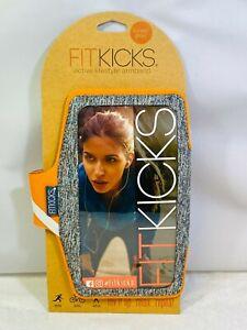 FitKicks Armband Neoprene Active Lifestyle Armband Holds Most Phones Orange