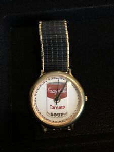 Andy Warhol Campbell's Soup Can Watch - LIMITED EDITION!!!