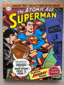 SUPERMAN: THE ATOMIC AGE SUNDAY NEWSPAPER COMIC STRIPS 1953-1956 HARDCOVER NM