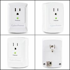 Essential Surge Protector 1 Outlet Wall Tap Plug for Single Device Protection