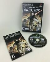 Star Wars Battlefront Playstation 2 Video Game PS2 Complete Game Case Manual