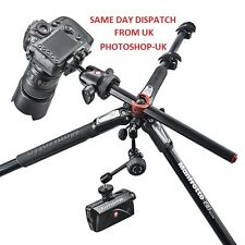 MANFROTTO MT190CXPRO3 CARBON FIBRE TRIPOD WITH 360 ROTATION- HEAD NOT INCLUDED