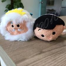 2X Tsum Tsum The Little Mermaid:King Triton Ariel's Father&Prince Eric Plush Toy