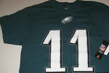Philadeiphia Eagles CARSON WENTZ #11 Jersey Type T-Shirt -MAJESTIC - NEW (LARGE)