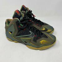 Nike LeBron 11 'King's Pride' shoes basketball mens sz 8