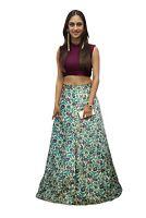 Diseñador Bollywood Lehenga Lengha Choli Indio Mujer Étnico Boda Fiesta Ropa
