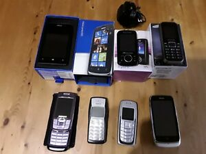 Mobile Phone Job Lot Nokia Samsung