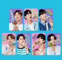 BTS Baskin Robbins Official photocard tracking number