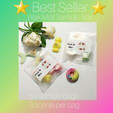 Perfume Wax Melts - Sample Box - Designer scented - Soy Wax Melts - uk handmade