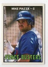 Mike Piazza 2017 Topps TBT 1967 Fence Busters Design Dodgers #87