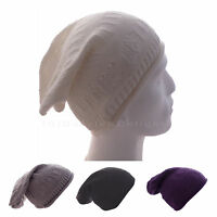 SLOUCH BEANIE HAT BAGGIE BEANIE HAT OVER SIZED WINTER HAT PATTERNED UNISEX HAT
