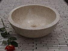 Stone Marble Sink Wash basin  Cream 40 cm ( wa002 ) Bathroom vanity