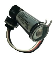 Photoelectric Switch (Photocell) in Black with Watertight clear cover
