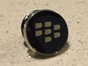 BlackBerry (RIM) Logo Executive Lapel Pin [ROUND] *TeamBlackBerry *SWAG *PROMO
