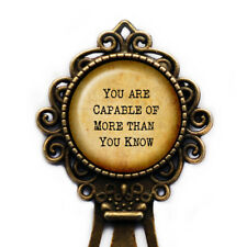 """Wizard of OZ Glinda the Good Witch """"You are Capable of more.."""" Bookmark"""
