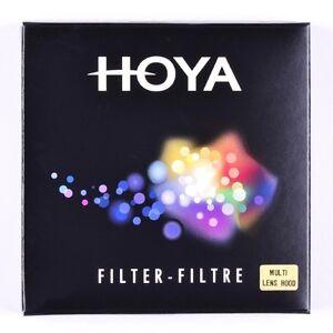 Hoya 77mm Multi Rubber Lens Hood - NEW UK STOCK