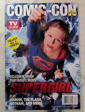 No Label COMIC-CON Special TV GUIDE Magazine SUPERGIRL Cover 100 SUPERNATURAL