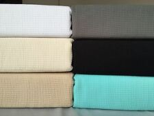 New 100% Cotton Light Weight Waffle Weave Blanket Throw Rug Bed Spread Linen
