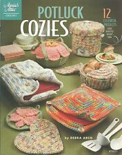 Potluck Cozies Casserole Covers Crochet Instruction Patterns Annie's Attic NEW