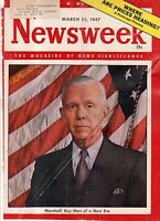 1947 Newsweek March 24 - Moslems to fight to the last Sikh; Truman Doctrine;