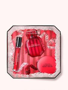 VICTORIA'S SECRET Luxe Fragrance and Body Cream Gift Set - Bombshell Intense