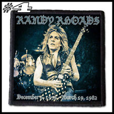 RANDY RHOADS  --- Patch / Aufnäher --- Various Designs