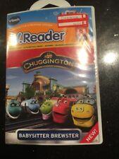 vtech v.Reader Animated E-Book CHUGGINGTON Train Babysitter Brewster Age 3-5 NEW
