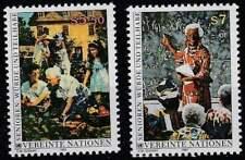 Vereinte Nationen - Wien postfris 1993 MNH 141-142 - De Ouderen