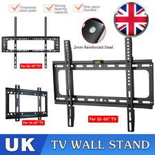 TV Wall Bracket Mount Slim For 14 26 30 32 40 42 50 63 70 Inch 3D LCD LED Plasma