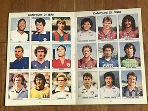 ALBUM + COMPLETE SET 1990 PANINI PELE' MARADONA figurina sticker card rookie wc