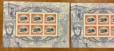 {BJ STAMPS} US 4806 Inverted Jenny sheet MAJOR VARIETY Consisitent Plate Flaw