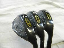 New Cleveland RTX 2.0 Black CB Wedge Set 52* AW 56* SW 60* LW Wedges Std Bounce