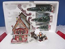 RETIRED DEPARTMENT 56~SWEET ROCK CANDY CO GIFT SET~9 PC NORTH POLE VILLAGE NIB