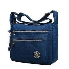 Damen Männer Umhängetaschen Handtasche Messenger Cross Body Canvas Taschen Bag