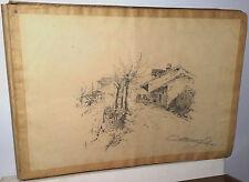 Disegni del pittore Silvio Cattaneo epoca 1800