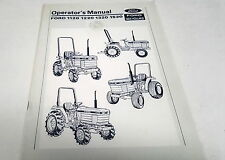 1988  FORD TRACTOR Operators Manual  1120 1220 1320 1520