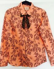 Scotch R'Belle Coral Bow Tie Blouse.NWT Age 14 Retails $83 Price $39