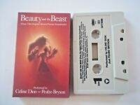 CELINE DION & PEABO BRYSON - BEAUTY AND THE BEAST (Movie) - CASSETTE Single 1991