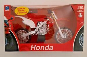 Honda CR 450R Motocross Die Cast Motorcycle 1/12 New Ray 2011 NIB