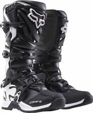2017 Fox Racing Comp 5  Black Motocross Dirt-Bike MX ATV Adult Boots Size 10