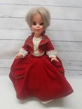 "Vintage FURGA Italy Gorgeous Gabriella Baby Doll 16"" Italian Rare Collectible"