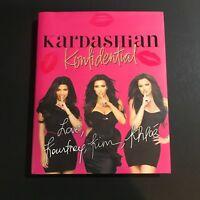 Kim Khloe Kourtney Kardashian Signed Book Auto Konfidential Hardcover JSA