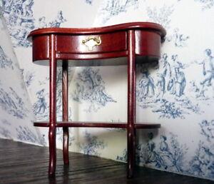 Vintage Fantastic Bespaq Rosewood TABLE 1:12 Dollhouse Miniature
