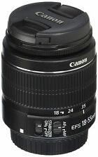 Canon EF-S 18-55mm f/3.5-5.6 IS II Lens For Canon DSLR Zoom Autofocus Lens