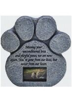 Pet Memorial Stone Marker Grave Tombstone Headstone personalized Garden Cemetary