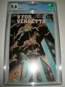 DC Comics V For Vendetta # 8 CGC 9.6