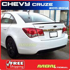 11 Chevy Cruze Sedan Rear Trunk Deck Spoiler Painted Wa636r Silver Ice Metallic Fits Cruze